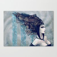 Zodiac Sign: Aquarius Canvas Print