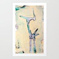 Victim Of A Target Marke… Art Print