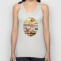 Glitch Pin-Up Redux: Isa… Unisex Tank Top