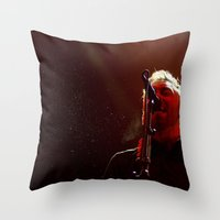 Rise Against Throw Pillow