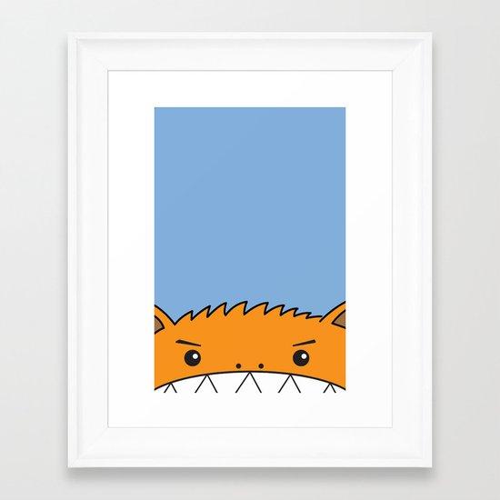 KOBOLD! Framed Art Print