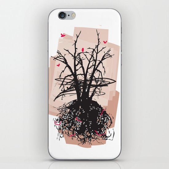 Birds and the Sky iPhone & iPod Skin