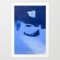 Post No Bills, But Smile… Art Print