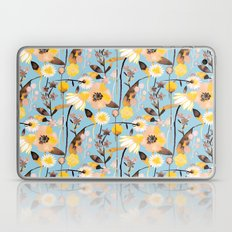 Blue spring flowers Laptop & iPad Skin