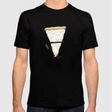 Slice! Black Mens Fitted Tee SMALL