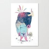 Mr.Minotaur Canvas Print