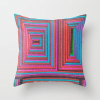 Structure 5 Throw Pillow