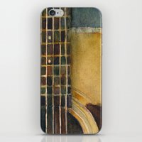 Martin Guitar D-28 iPhone & iPod Skin