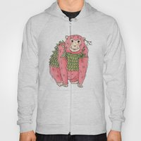 Peachtree The Chimp in Red Hoody