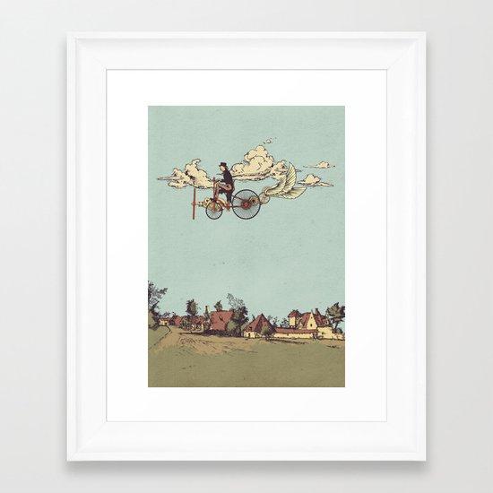 Steam FLY Framed Art Print