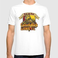 CasterlyRock Lions F.C. Mens Fitted Tee White SMALL