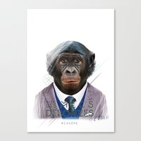 Gorille Canvas Print