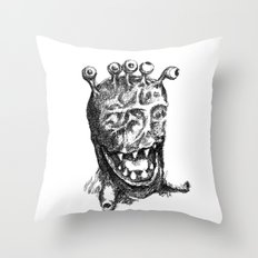 Muleye Throw Pillow