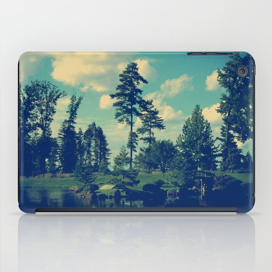 Yesterday Evening at the Lake iPad Case