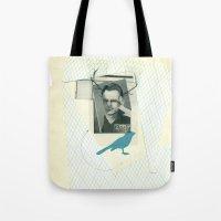 bluebird of... Tote Bag