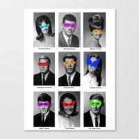 Superhero Academy Canvas Print