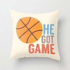 He Got Game Throw Pillow