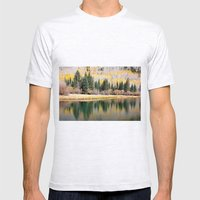 Enchiladas in the Trees 3 Mens Fitted Tee Ash Grey SMALL