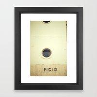 (EDI)FICIO Framed Art Print