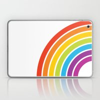 A Rainbow World Laptop & iPad Skin
