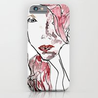 iPhone & iPod Case featuring Scarlet Red by Andria Aileen