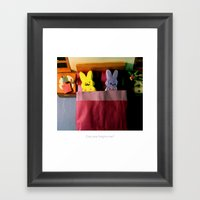 Coping Mechanisms: Four Framed Art Print