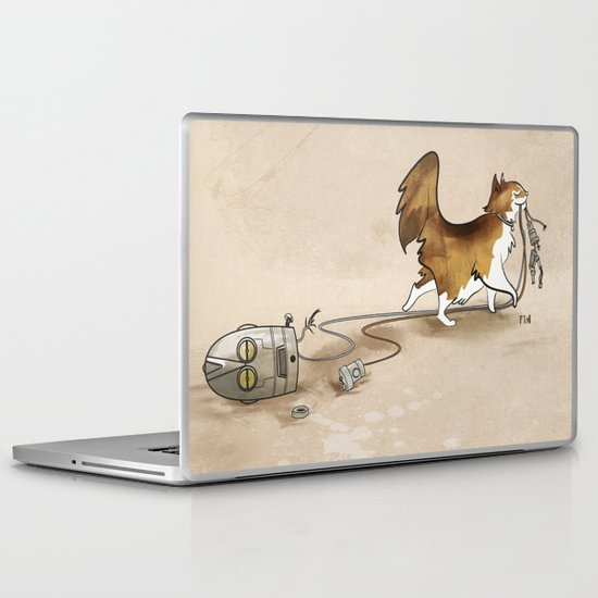 My Cat, the Robot Killer Laptop & iPad Skin
