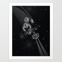 Intergalactic Pest Contr… Art Print