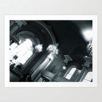 WHITEOUT : Sinners Art Print