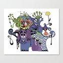 hippopotamouth Canvas Print