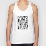 Bunny In The Grass Unisex Tank Top