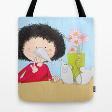 Acting like mice.... Tote Bag