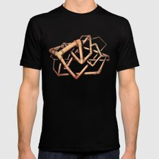 Hank Tube Black SMALL Mens Fitted Tee