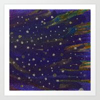 Little Stars Art Print