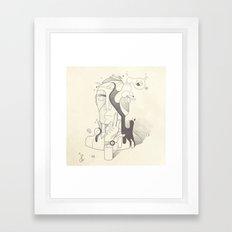 Get It Together Framed Art Print