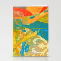 Tricolor Stationery Cards