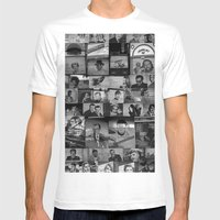 The Protectors Of Hollyw… Mens Fitted Tee White SMALL