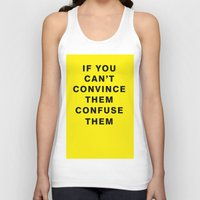 If You Can't Convince Th… Unisex Tank Top