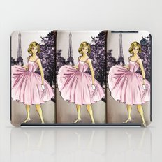 Pretty In Pink In Paris iPad Case