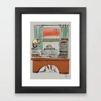The Idle Reader Framed Art Print
