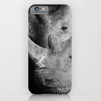 iPhone & iPod Case featuring Rhinos by Dr. Tom Osborne