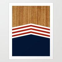 Vintage Rower Ver. 3 Art Print
