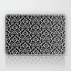 Art Nouveau Pattern Black and White Laptop & iPad Skin
