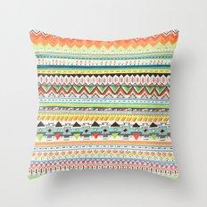 Pattern No.3 Throw Pillow