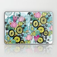 Bicycle Birds Laptop & iPad Skin