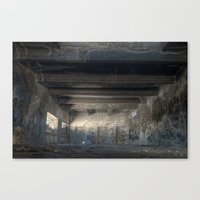 The Old Factory Canvas Print
