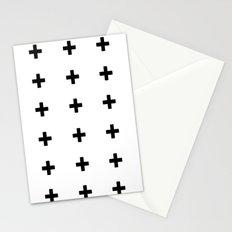 +++ (black) Stationery Cards