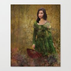 The Red Fan Canvas Print