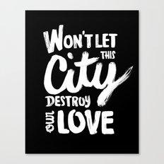 This City Canvas Print