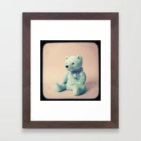 Teddy Bear Framed Art Print